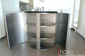 meuble inox cuisine pro plan de travail cuisine professionnelle meuble inox cuisine bien