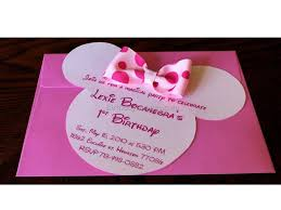 template classic minnie mouse birthday invitations free download
