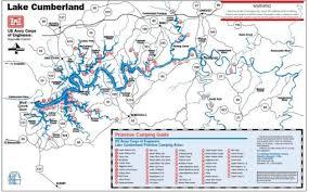 cumberland lake map lake cumberland raft up directions