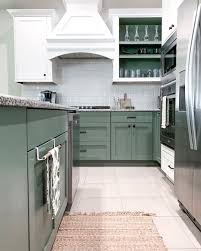 green kitchen cabinets pictures color inspiration green kitchen cabinets addicted 2