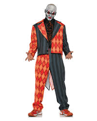 killer clown costume evil circus clown costume as disguise horror shop