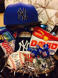 baseball gift basket gift basket i made for my boyfriend on our year anni