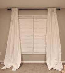 How To Measure For Drapery Panels It U0027s A Grandville Life No Sew Custom Length Rivta Curtains