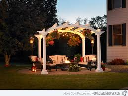 Small Backyard Pergola Ideas Top 20 Pergola Designs Plus Their Costs Diy Home Improvement