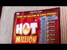 Lottery Instant Wins - winner 20 pa lottery hot million instant win youtube