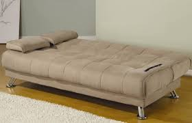furniture convertible futon sofa with removable armrest and
