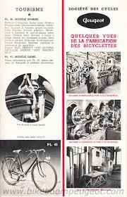 france peugeot peugeot 1952 france brochures