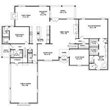 1 story floor plan exciting 1 story house plans with 4 bedrooms contemporary best