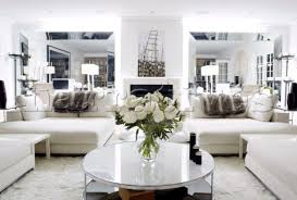 bd114 36 white sofas and circular coffee table in mir
