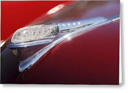 1948 plymouth convertible ornament photograph by reger