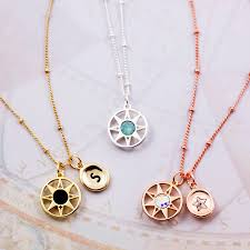 charm necklace star images Compass north star charm necklace by j s jewellery jpg