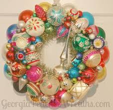 Vintage Christmas Decorations 338 Best Vintage Christmas Ornament Wreaths Images On Pinterest