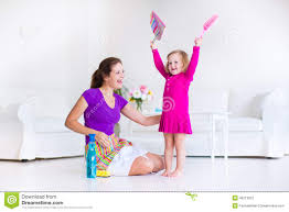 mother and daughter sweeping the floor stock photo image 46213812