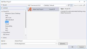 atata templates visual studio marketplace