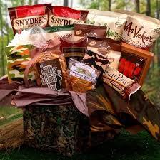 Man Gift Baskets Camouflage Gift Baskets