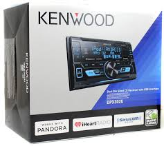 kenwood home theater system kenwood dpx302u double din in dash cd receiver with front usb and