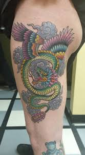 quetzalcoatl full color by joe breitenbach alliance tattoos in