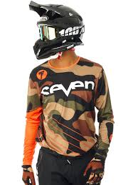 youth motocross jersey seven mx orange 2017 annex soldier mx jersey seven mx