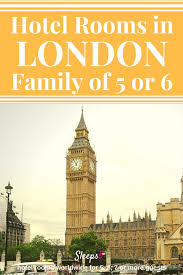 London Hotel Family Rooms For  Or  People - Family hotel rooms london
