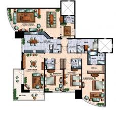 Bay Lake Tower One Bedroom Villa Floor Plan Jumeirah Lake Towers Dubai Floor Plans