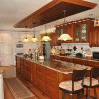 Small U Shape Kitchen Decoration Using Red Light Cherry Kitchen - Light cherry kitchen cabinets