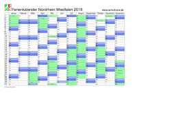 Kalender 2018 Hamburg Feiertage Schulkreis De Schulferien Kalender Nrw Nordrhein Westfalen 2018