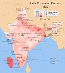 United States Population Distribution Map by Demographics Of India Wikipedia