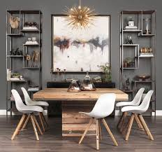 Gray Dining Rooms Gray Dining Room Home Design Plan