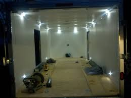 Smartness Design Enclosed Trailer Interior Light Kit Excellent Ideas