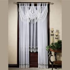 curtain touch of class curtains valance ideas striped valances