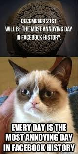 Meme End Of The World - grumpy cat end of the world dump a day