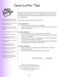 resume cover letter example general resume for your job application