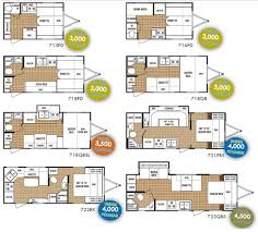amusing rv floor plans crtable