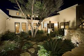 Sollos Landscape Lighting Gallery Visual Exles Of Commercial Lighting Options Synergy