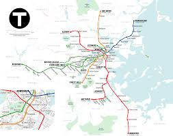Metro Map Silver Line by List Of Mbta Subway Stations Wikipedia