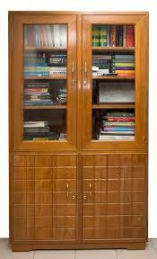 Sliding Door Bookcase Image 6 With Teak Wood Bookcase Teak Wood Bookcase Teak Woo Teak