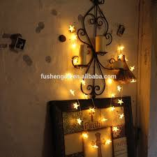 20 led white hearts rattan ball string lights for home decoration