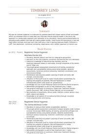 dental hygienist resume samples visualcv resume samples database