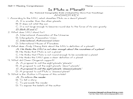 pictures on printable reading comprehension worksheets for 3rd