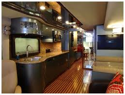 home designs rv remodeling ideas renovated rv fireplace