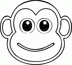 monkeys a cute baby monkey sitting coloring page monkey coloring