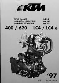 ktm 400 620 lc4 lc4e 1997 manual de reparatie www