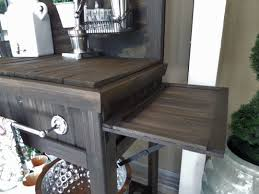 diy potting bench turned outdoor bar be my guest with denise