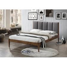 Gray Platform Bed Modern Beds Allmodern