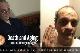 special effects makeup classes nyc and aging make up through the ages special effects