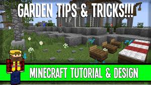 garden tips u0026 tricks inspiration minecraft youtube