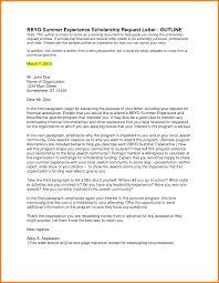 5 letter for a scholarship request ledger paper