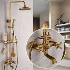 Bathtub Faucet Sets Vintage Copper Top And Hand Bathroom Shower Faucet System