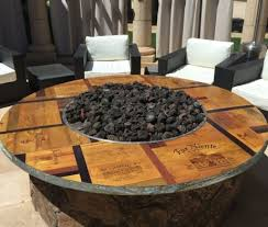 Wine Barrel Fire Pit Table by Fire Pit Table Top Vita Vino U2013 Wine Barrel Fire Pits And Furniture