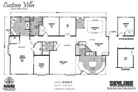custom villa b368ct by skyline homes